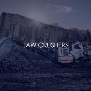 jaw crushers, crushing and screening